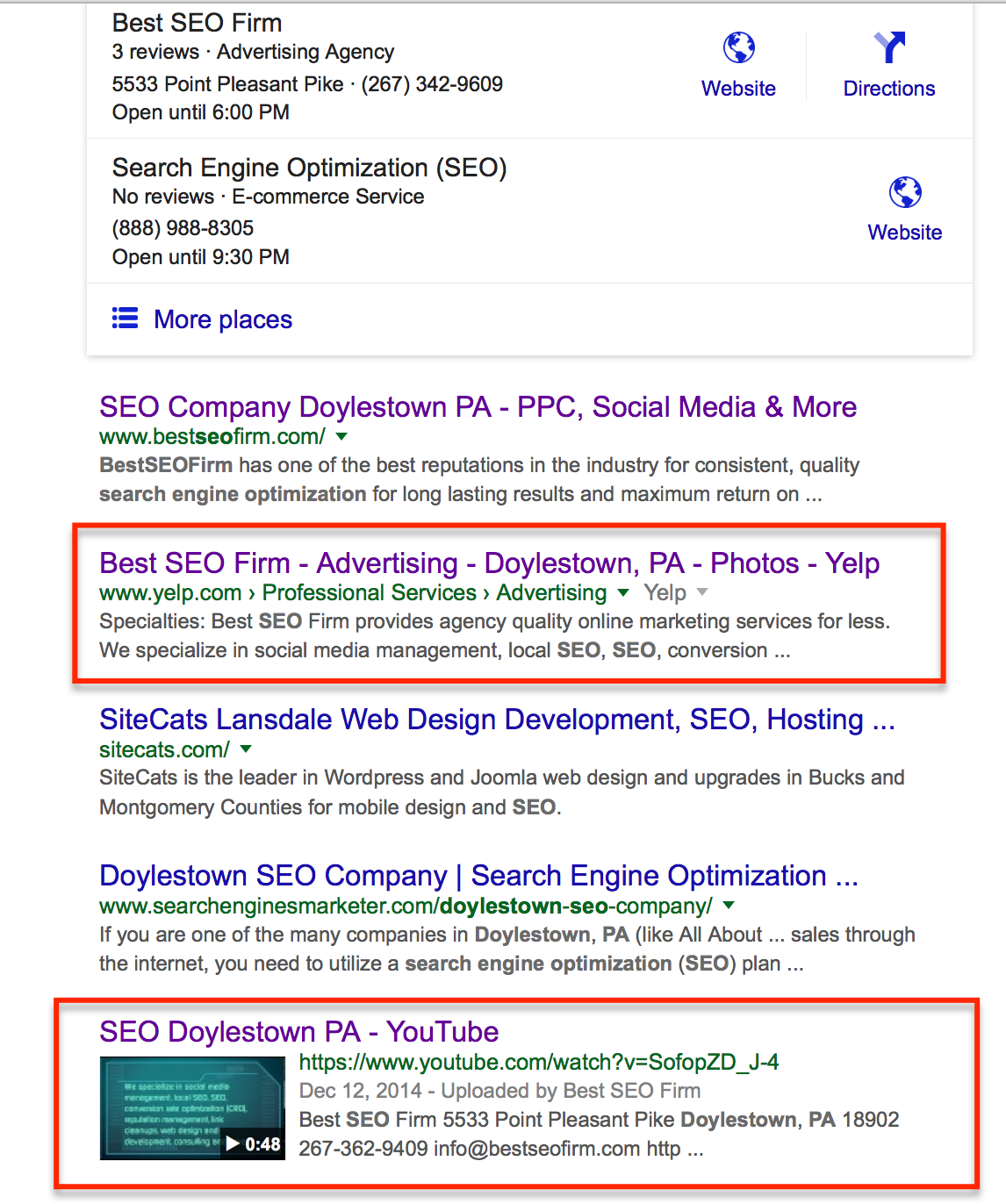 parasite SEO for brand building