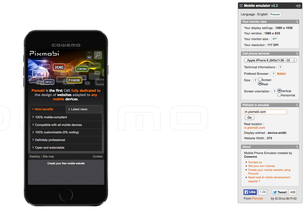 Mobilr Phone Emulator