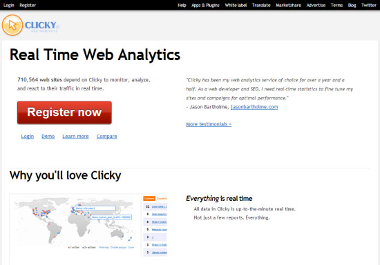 clicky-analytics